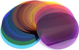 Godox V-11C カラーフィルター カラー効果の創造 GodoxAK-R16またはAK-R1と組み合わせで使用 ラウンドヘッドAD200/AD200PRO/Godox V1ストロボシリーズGodox V1-S,V1-C,V1-N,V1-O,V1-P対応