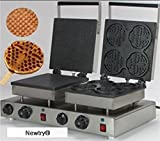 NEWTRY NP-575 Commercial Electric Rectangle Waffle Maker Iron Machine Waffle Baker (220V)