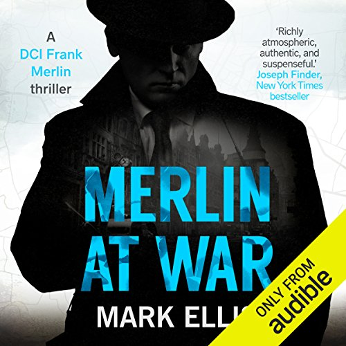 Merlin at War audiobook cover art