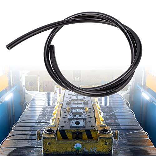 Manguera de aire comprimido, manguera neumática para herramientas de aire con pared de tubería gruesa para combustible para la industria de carpintería para fábrica de reparación de(black, 3m)