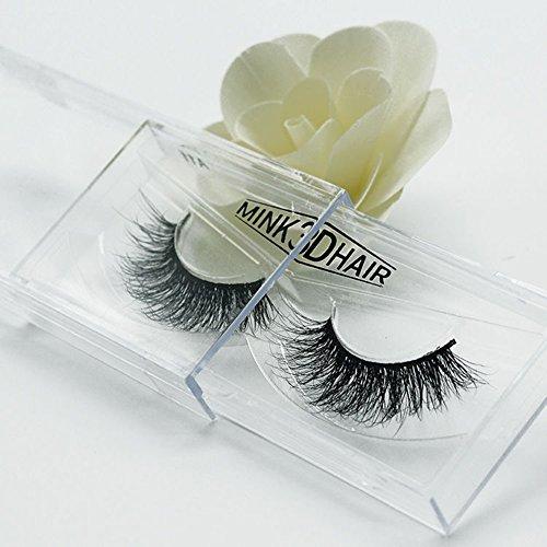 XdiseD9Xsmao Extension De Cils Longs Et Doux Avec De Vrais Yeux En Vrai Vison 3D, Maquillage Durable épais Et Lisses Pour Cils Faux Cils Pour Femmes Filles