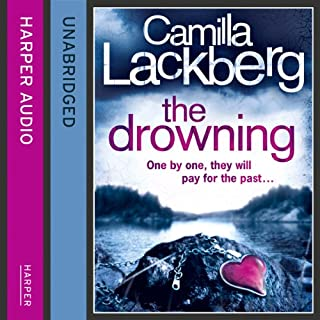 The Drowning     Patrik Hedström and Erica Falck, Book 6              By:                                                                                                                                 Camilla Lackberg                               Narrated by:                                                                                                                                 Eamonn Riley                      Length: 15 hrs and 28 mins     92 ratings     Overall 4.4