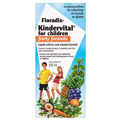 Salus | Floradix Kindervital - Childrens Fruity Formula | 3 X 250ml