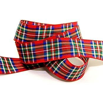 Luxury Scottish Approved Wedding Woven Craft Berisfords TARTAN Ribbon