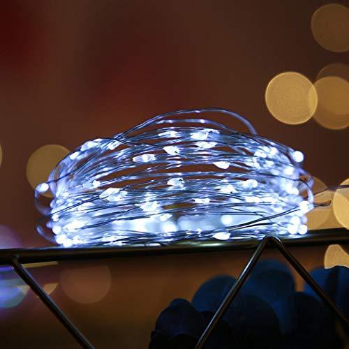 Tiowea Catena di luci USB, impermeabile, per Natale, cortili, cortili, luci speciali e illuminazione d'atmosfera