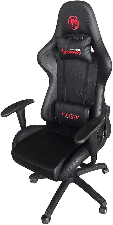 Marvo Scorpion CH-106 Adjustable Gaming Chair_Black & Black