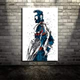 wopiaol Kein Rahmen Infinity Wars Film Leinwand Poster Wandkunst Druck Kinder Dekor Wohnkultur