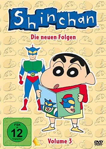 Shin chan - Die neuen Folgen, Volume 3 [Alemania] [DVD]