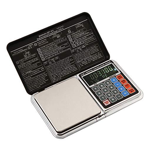 Balance de Cuisine Electronique Professionnelle, Balance numérique de cuisine de Haute Précision Ultra Mince,500g/0.01g