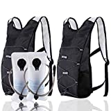 ArgoHome 2Pack Hydration Backpack with 2l Water Bladders Small Hiking Backpack for Women Men Kids Waterproof Lightweight Water Backpack for Hiking Running Cycling Climbing Camping Mountain Bike