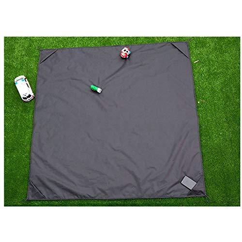 CattleBie Picknickdecke Oxford Textile Picknickdecke Feuchtigkeitsbeständige Ultraleichtflugzeugtasche Outdoor-Rasenmatte Mini Faltbare tragbare Picknickunterlage Geeignet for Strände Camping Wandern