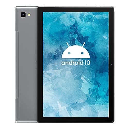 Tablet 10 Pollici Blackview Tab 8 Tablet con Android 10,4GB+64GB,128GB Espandibili,Batteria 6580mAh,Octa-Core 4G Dual SIM Tablet in Offerta,Fotocamera 13MP,1200*1920 FHD+ IPS,Wi-Fi,Face ID,OTG-Grigio
