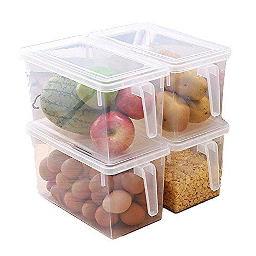 MineSpace - Juego 4 cajas almacenamiento