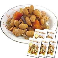 鶏と大豆の旨煮5袋セット(無添加 常温保存 uchipac ウチパク 内野屋 レトルト惣菜 ロングライフ 非常食)