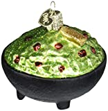 Old World Christmas Guacamole Avocado Glass Blown Ornaments for Christmas Tree