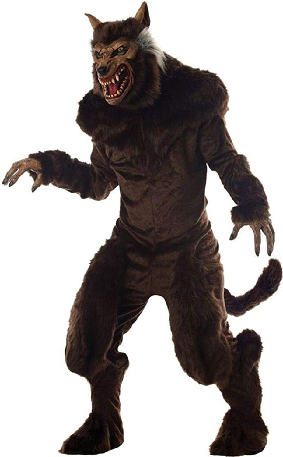 Deluxe Werewolf Fancy Dress Costume Large Large by MCS