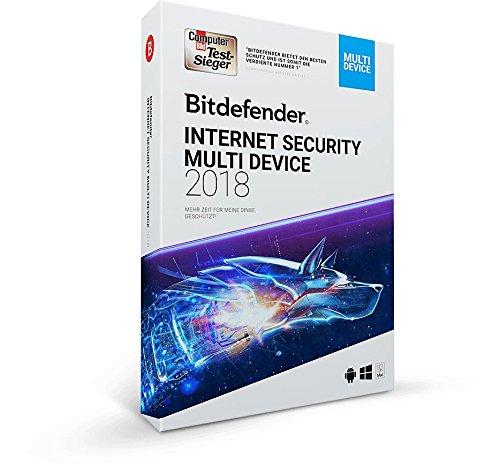 Bitdefender Internet Security Multi Device 2018 - 1 Gerät | 1 Jahr / 365 Tage (Windows PC) - Aktivierungscode