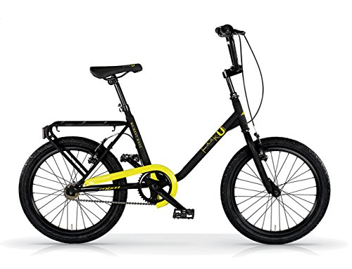 MBM FK-U, Bicicletta Minimale Unisex Bambini, Giallo A29, Taglia Unica