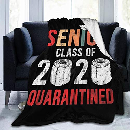 Graduation Senior Blanket Soft Air Conditioning Quilt Sofa Couch Bed Throw for Kids Adults 60'x50'