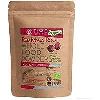 Red Maca Root Powder Gelatinized 4:1 - Soil Association Certified Organic - 250 Grams - Zero Additives
