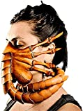 Byjccar Facehugger Hand Stitch Leather Mask...