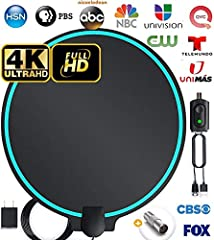 _ [12+ free HD channels] crystal clear HDTV 4K 1080p picture with no pixelation. Enjoy ABC, CBS, Fox, NBC, pbs, the Cw, Univision & more! Channel varieties include local news, weather, sitcoms, kids and sports. Cut the cord on your cable and enjoy th...