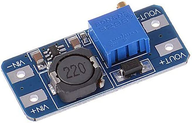 Stayhome 1pcs MT3608 DC-DC Step Up Converter Booster Power Supply Module Boost Step-up Board MAX Output 28V 2A