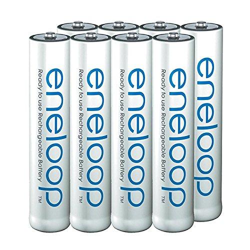 Panasonic Eneloop Rechargeable Battery Nickel-Metallhydrid (NiMH) - Batterien (Rechargeable Battery, Nickel-Metallhydrid (NiMH), 1 Stück(e), 750 mAh, Blau, Weiß, AAA)