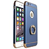 RORSOU iPhone 6 Case, for Apple iPhone 6 (4.7') - Blue and Gold