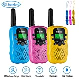 Girls Walkie Talkies for Kids Toys, 3 Pack Walky Talky for Kids Age 5-10 Years...