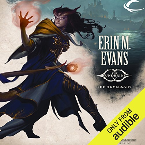 The Adversary     Forgotten Realms: The Sundering, Book III              By:                                                                                                                                 Erin M. Evans                               Narrated by:                                                                                                                                 Dina Pearlman                      Length: 19 hrs and 45 mins     482 ratings     Overall 4.2