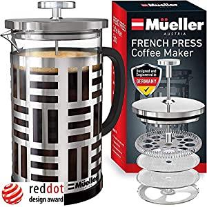 Mueller SOHO French Press Coffee Maker