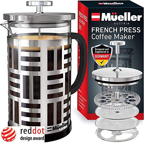 Mueller SOHO French Press Coffee Maker