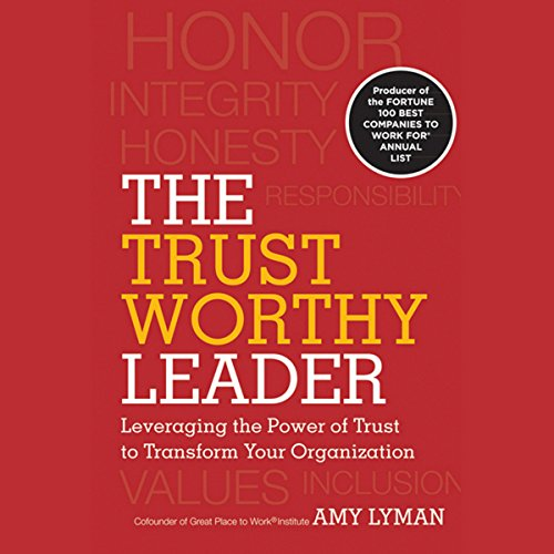 The Trustworthy Leader audiobook cover art