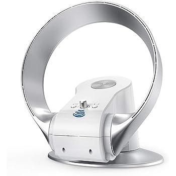 U ULTTY Ventilador sin Aspas Ventiladores Ultra Ajustable de Continuo Velocidades, Ventiladores de Pared Ventiladores de Sobremesa: Amazon.es: Hogar