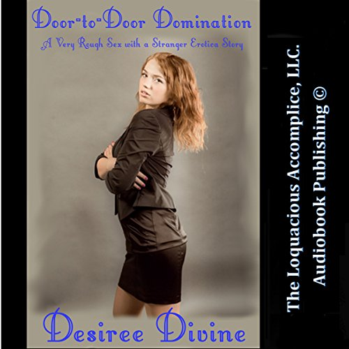 Door-to-Door Domination: A Very Rough Sex with a Stranger Erotica Story audiobook cover art