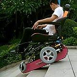 Silla de Ruedas de Escalada Eléctrica Multifuncional para Personas Discapacitadas Subir y Bajar Escaleras Silla de Ruedas Completamente Automática Silla de Ruedas Eléctrica Inteligente,Pink