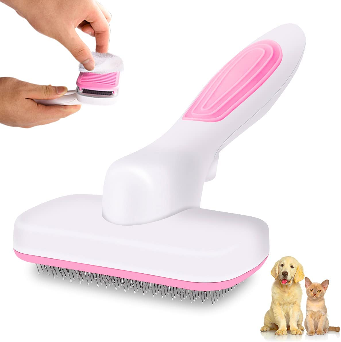 Cat Grooming Directly managed store Louisville-Jefferson County Mall Brush for Shedding Cappaw Pet Cleaning Hair