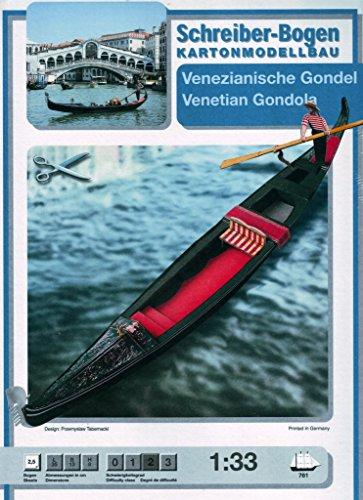 Aue-Verlag Schreiber-Bogen Gongola Veneciana para modelar