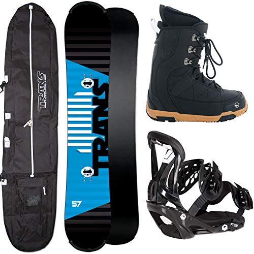 Unbekannt Herren Snowboard Trans Rental 155 cm + FTWO Sonic BINDUNG L + Boots + Bag