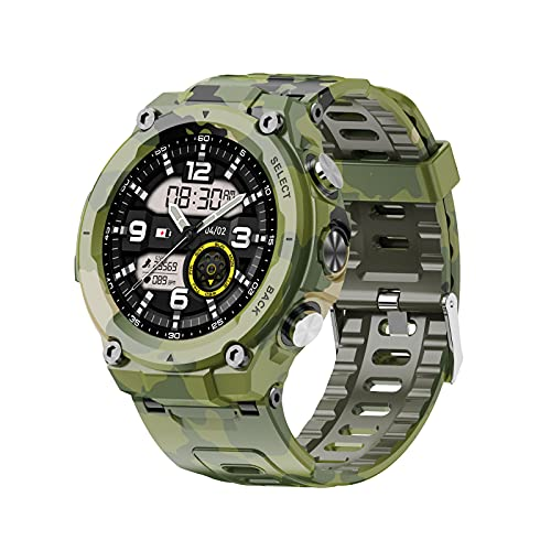 Reloj Inteligente Q998K para Hombres Y Mujeres Contador de Calorías del Podómetro del Monitor del Ritmo Cardíaco Reloj Deportivo IP68 Impermeable con Pantalla HD de 1 28 Pulgadas