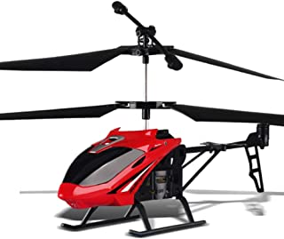 HBOY Children's Toys 2.5 Pass 3.5 Pass Charging Alloy Remote Control Aircraft Drone Helicopter Aircraft-red