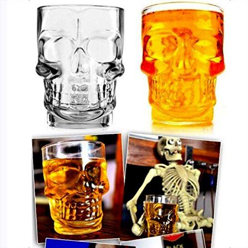 Generic 4Kristall Skull Head Shot Glas trinken Ware für Home Bar
