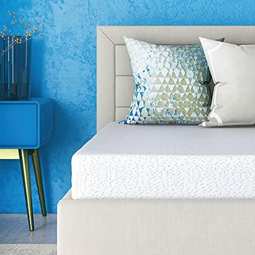 Classic Brands Cool Gel Memory Foam 6-Inch Mattress | CertiPUR-US...