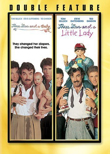 Three Men and a Baby/Three Men and a Little Lady by Touchstone Home Entertainment by Leonard Nimoy Emile Ardolino
