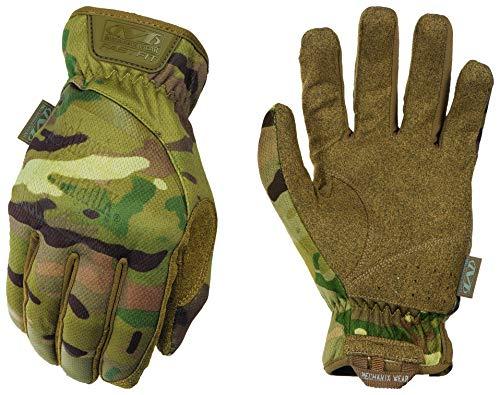 Mechanix Wear: MultiCam FastFit Tactical Work Gloves (Small, MultiCam)