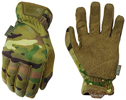 Mechanix Wear - Multicam FastFit Tactical Touchscreen Gloves (Large, Camouflage)