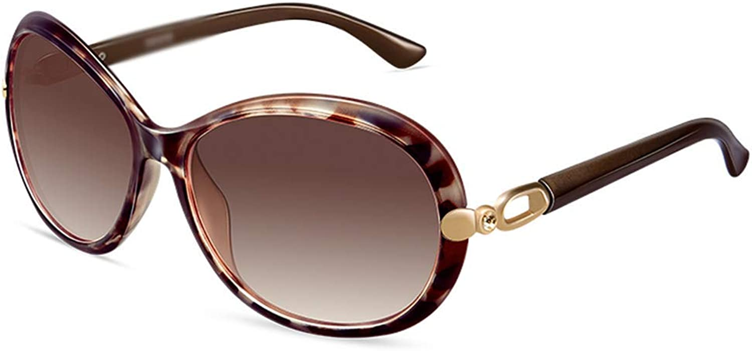 XINGZHE Sunglasses  Polarized, UVResistant, Large Frame, Trendy Personality, Ladies Driving Shopping Street Shooting, Outdoor Activities, 3 colors to Choose from Sunglasses (color   Brown)