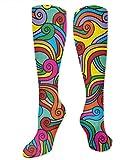 Boho Tribal - Calcetines deportivos de algodón para mujer, 3.35 x 19.68 pulgadas, para adultos y oficina