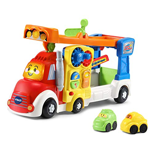 VTech Go! Go! Smart Wheels Big Rig Car Carrier